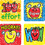 Carson Dellosa CD-0602 Stickers Apples Kid-Drawn 120/Pk Acid & Lignin Free