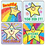 Carson Dellosa CD-0640 Stickers Stars Kid-Drawn 120/Pk Acid & Lignin Free