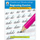 Carson Dellosa CD-0886 Traditional Handwriting Beginning Cursive Book