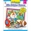 Carson Dellosa CD-104049 Colorful File Folder Games Gr 1