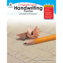 Carson Dellosa CD-104250 Comprehensive Handwriting Practice Traditional Cursive