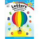 Carson Dellosa CD-104326 Letters Uppercase & Lowercase Home Workbook Gr Pk-K