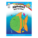 Carson Dellosa CD-104328 Alphabet Dot To Dot Home Workbook Gr Pk-K