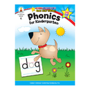 Carson Dellosa CD-104343 Phonics For Kindergarten Home Workbook Gr K