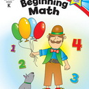 Carson Dellosa CD-104345 Beginning Math Home Workbook Gr K
