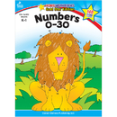 Carson Dellosa CD-104352 Numbers 0-30 Home Workbook Gr K-1