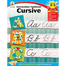 Carson Dellosa CD-104585 Intermediate Traditional Cursive Gr 2-5