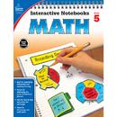Carson Dellosa CD-104650 Interactive Notebooks Math Gr 5