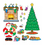 Carson Dellosa CD-110062 Bb Set Christmas Scene