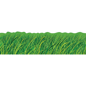 Carson Dellosa CD-110072 Grass Big Borders 8 Pcs Gr Pk-5, Price/EA