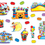 Carson Dellosa CD-110169 Carnival Fun Bb Set