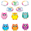 Carson Dellosa CD-110188 Colorful Owl Talkers
