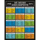 Carson Dellosa CD-114110 Be More Descriptive Chartlet Gr 1-5