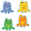 Carson Dellosa CD-120123 Funky Frogs Cut Outs