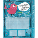 Carson Dellosa CD-136000 Substitute Teacher Folder Song Bird