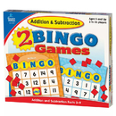 Carson Dellosa CD-140038 Addition & Subtraction Bingo
