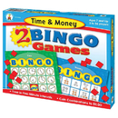 Carson Dellosa CD-140042 Time & Money Bingo