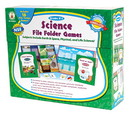 Carson Dellosa CD-140044 Games Science File Folder Skill Building Center Activities Gr K-1