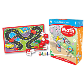 Carson Dellosa CD-140051 Math Learning Games Gr 1 Centersolutions, Price/EA
