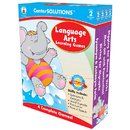 Carson Dellosa CD-140055 Language Arts Learning Games Gr 2 Centersolutions