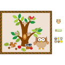 Carson Dellosa CD-144196 Owl Bulletin Board Essentials Set