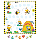 Carson Dellosa CD-148026 Buzz-Worthy Bees Mini Incentive - Charts