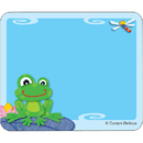 Carson Dellosa CD-150024 Funky Frogs Name Tags