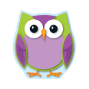 Carson Dellosa CD-151065 Colorful Owl