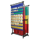 Carson Dellosa CD-158004 Double Pocket Chart Stand & Accessories