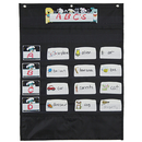 Carson Dellosa CD-158571 Mini Essential Pocket Chart Black