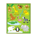Carson Dellosa CD-168022 Zoo Shape Stickers 78Pk