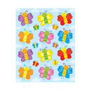 Carson Dellosa CD-168032 Butterflies Shape Stickers 72Pk
