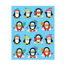 Carson Dellosa CD-168034 Penguins Shape Stickers 84Pk