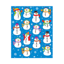 Carson Dellosa CD-168035 Snowmen Shape Stickers 84Pk