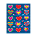 Carson Dellosa CD-168036 Hearts Shape Stickers 90Pk