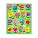 Carson Dellosa CD-168038 Flowers Shape Stickers 96Pk