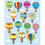 Carson Dellosa CD-168064 Hot Air Balloons Shape Stickers