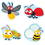 Carson Dellosa CD-168148 Buggy For Bugs Stickers