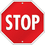 Carson Dellosa CD-188026 Stop Sign Two Sided Decorations