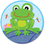 Carson Dellosa CD-188041 Funky Frog Two Sided Decoration