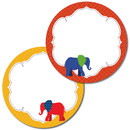 Carson Dellosa CD-188065 Elephant Two Sided Decorations - Gr Pk-5