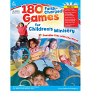 Carson Dellosa CD-204072 180 Faith-Charged Games For Childrens Ministry Elementary