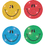 Carson Dellosa CD-2143 Dazzle Chart Seals Smiley 440/Pk Faces Acid/Lignin Free Multicolor