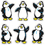 Carson Dellosa CD-2915 Dazzle Stickers Penguins 90-Pk Acid & Lignin Free