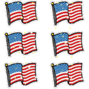 Carson Dellosa CD-2930 Dazzle Stickers Flags 90-Pk Acid & Lignin Free