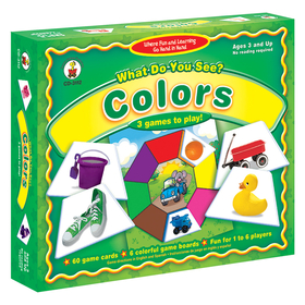 Carson Dellosa CD-3112 Game What Do You See 3 & Up Colors, Price/EA
