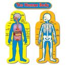 Carson Dellosa CD-3215 Bb Set Child-Size Human Body 2 Figures 50T
