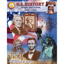 Carson Dellosa CD-404039 Us History People & Events 1607- 1865 Gr 6 & Up