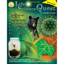 Carson Dellosa CD-404091 Life Science Quest For Middle