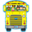 Carson Dellosa CD-4106 Two-Sided Decoration School Bus